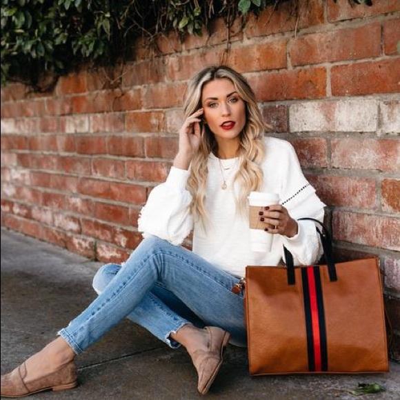 Handbags - ROYCE TOTE BAG - TAN